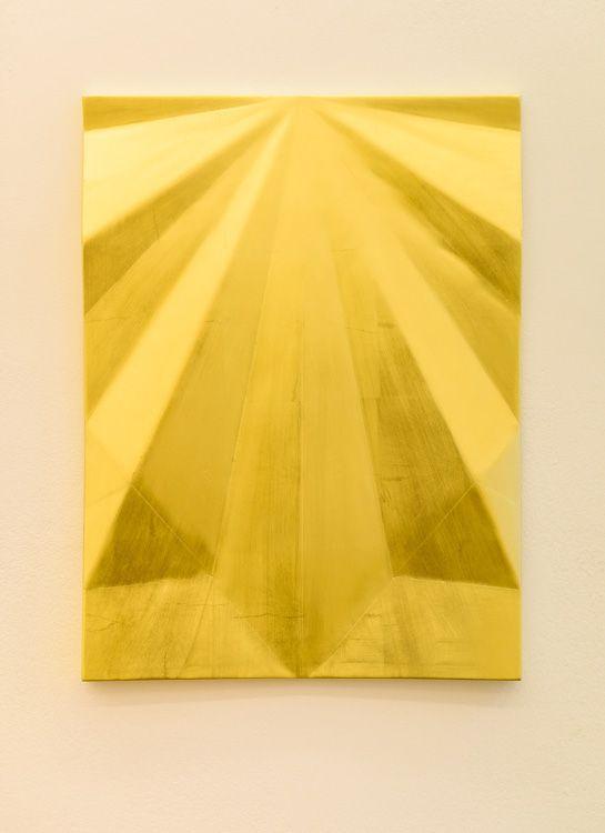 Gonzalo Lebrija, Unfolded gold: Concord peak, 2015, Galerie Laurent Godin
