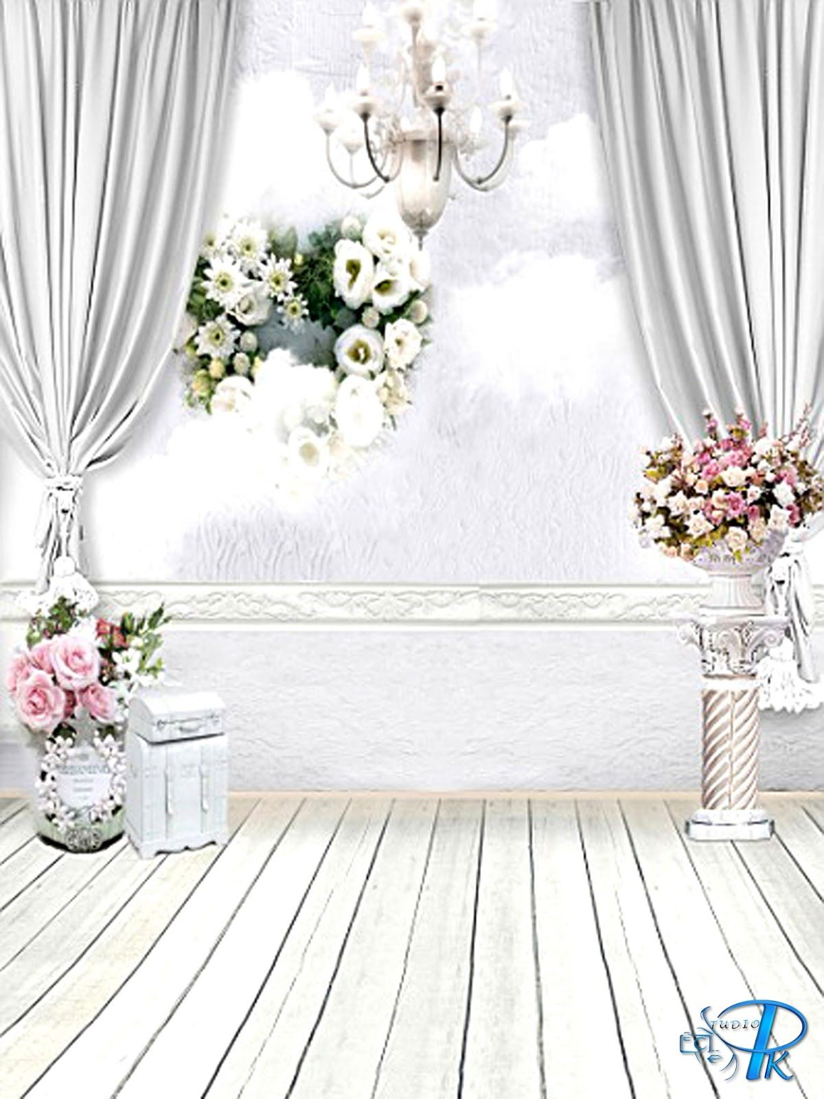 Floral Wedding Background Hd