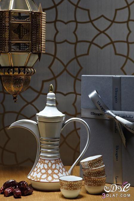 أدوات ضيافة عربية اواني القهوة التراثية دلة الشاي للضيوف اطقم دله ملونة Coffee V60 Coffee Coffee Tea