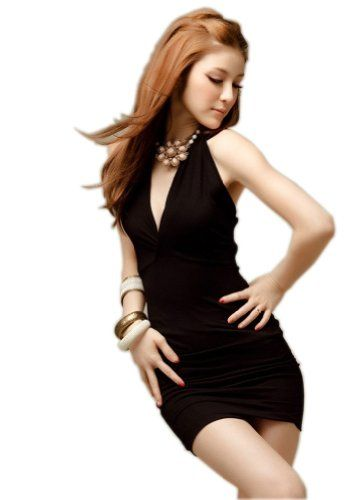 Ships from Hongkong. Go out in style with this sexy fitted dress! This dress is available in size medium. This dress is perfect for all your social gatherings. ...