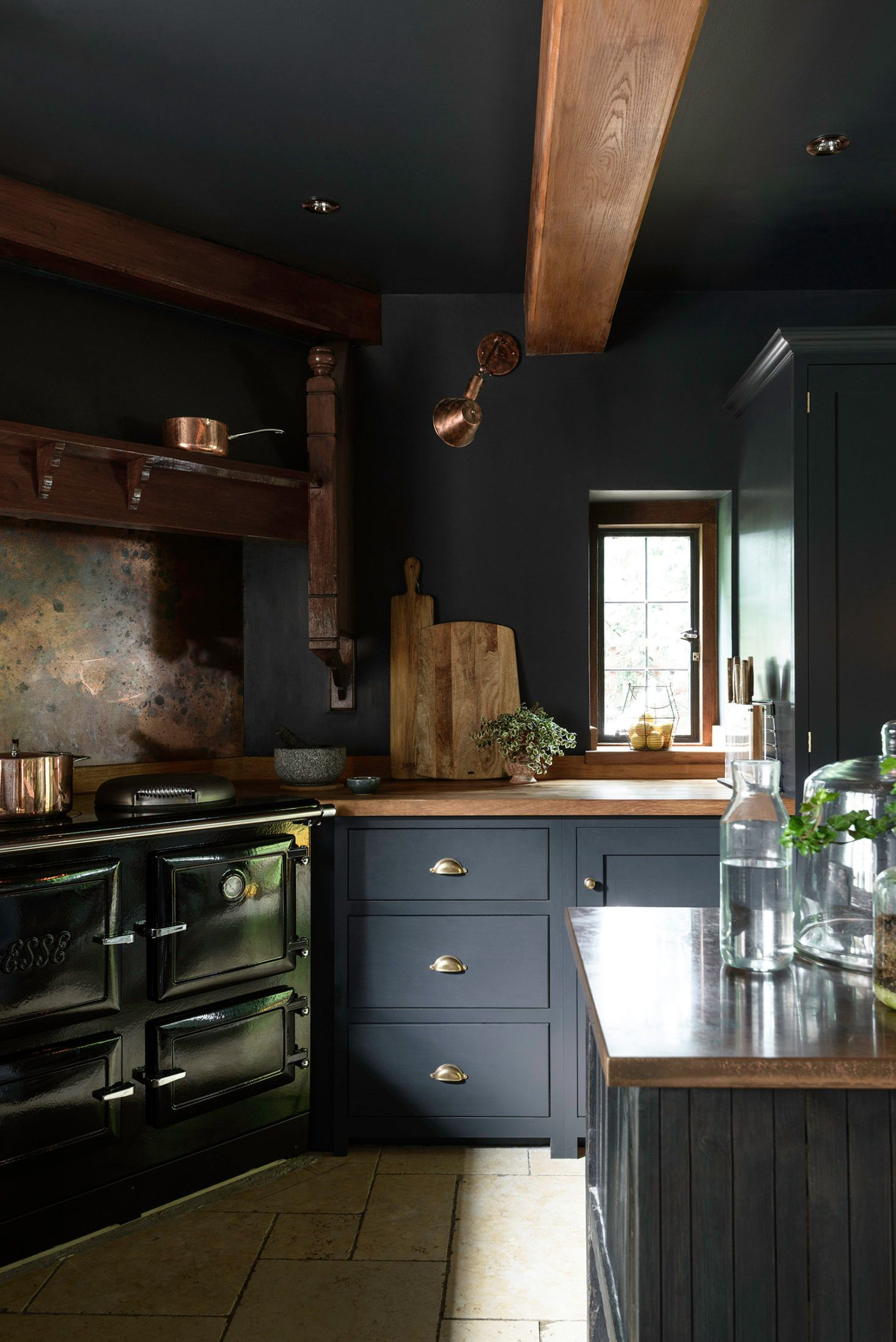 Kitchen Of The Week An Award Winning Devol Project With A Heart Of Darkness Devol Kitchens Kitchen Design Trends Kitchen Trends