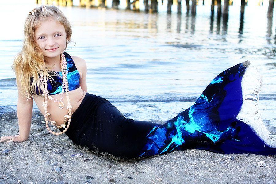 Mermaid Tail to the Beach Onesie