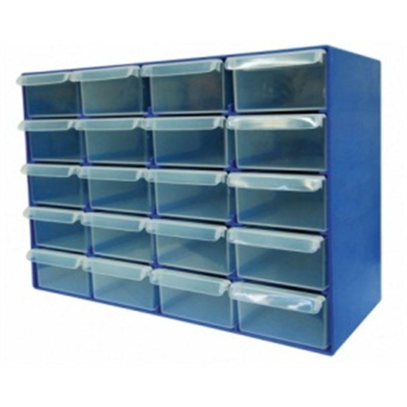 Handy Storage 20 Drawer Compartment Organiser Compartment Organizer Storage Drawer Organisers