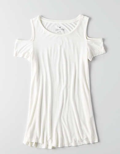 eef558ade3365a AEO Soft   Sexy Cold Shoulder Tie Sleeve Top in 2018