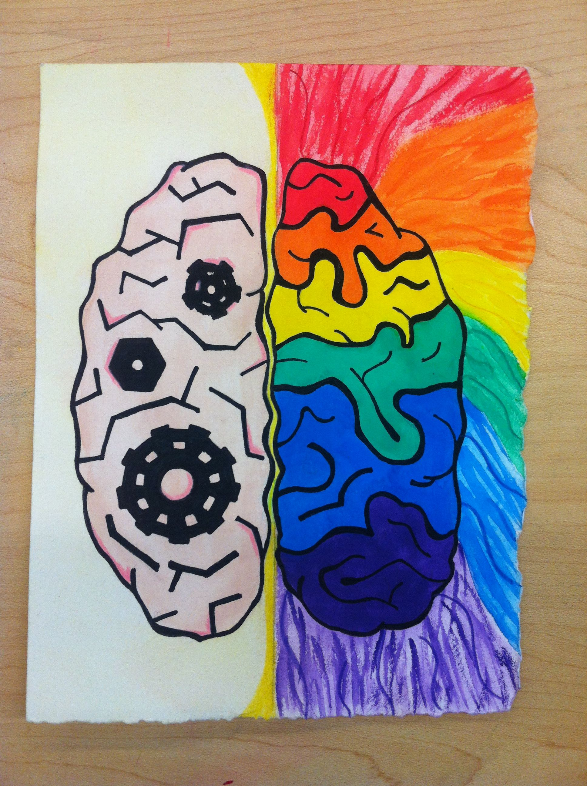 Anatomy Project: left brain vs right brain | Right Brain | Pinterest ...