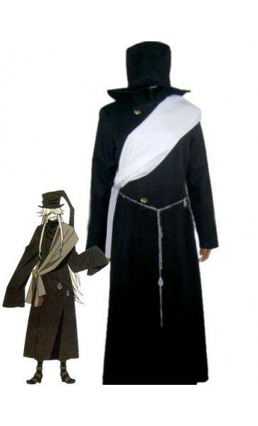 Black Butler Halloween Undertaker Black Halloween Costumes