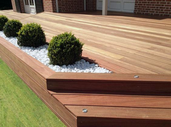 Top 60 Best Backyard Deck Ideas  Wood And Composite Decking Designs is part of Small backyard decks, Patio deck designs, Back garden design, Backyard patio, Backyard garden design, Deck garden - Discover where luxury and leisure meet with the top 60 best backyard deck ideas  Explore unique wood and composite decking designs and layouts
