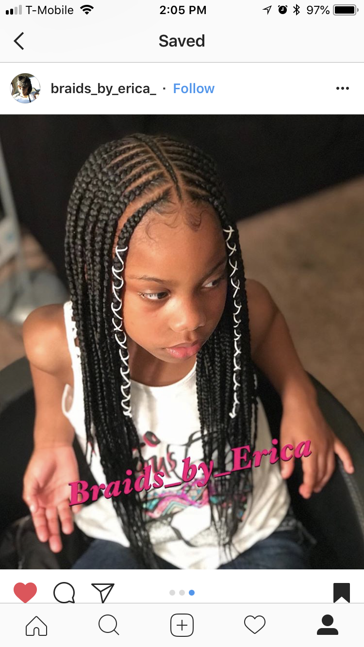 Iamquestyles My Latest Creation On Melanadene Protectivestyles Naturalhair Braids For Black Hair African Braids Hairstyles Black Girl Braided Hairstyles