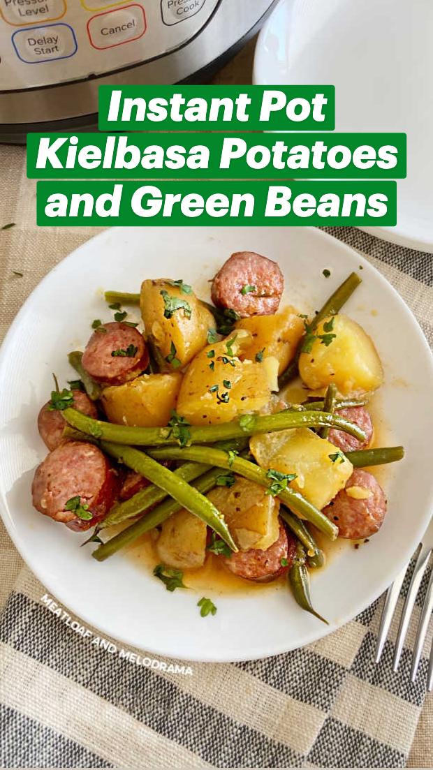 Photo of Instant Pot Kielbasa Potatoes and Green Beans