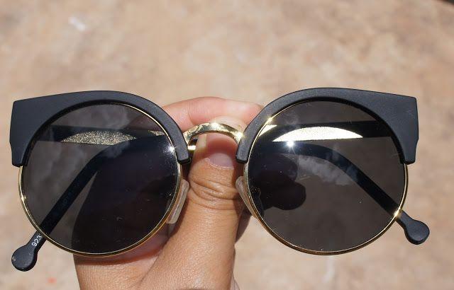 431b7a39f4eba aliexpress sunglasses haul black mirror cat eye