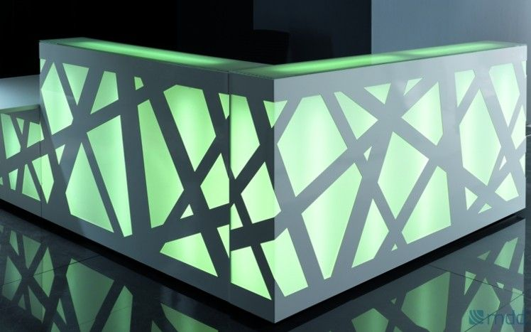 Zig-Zag reception desk