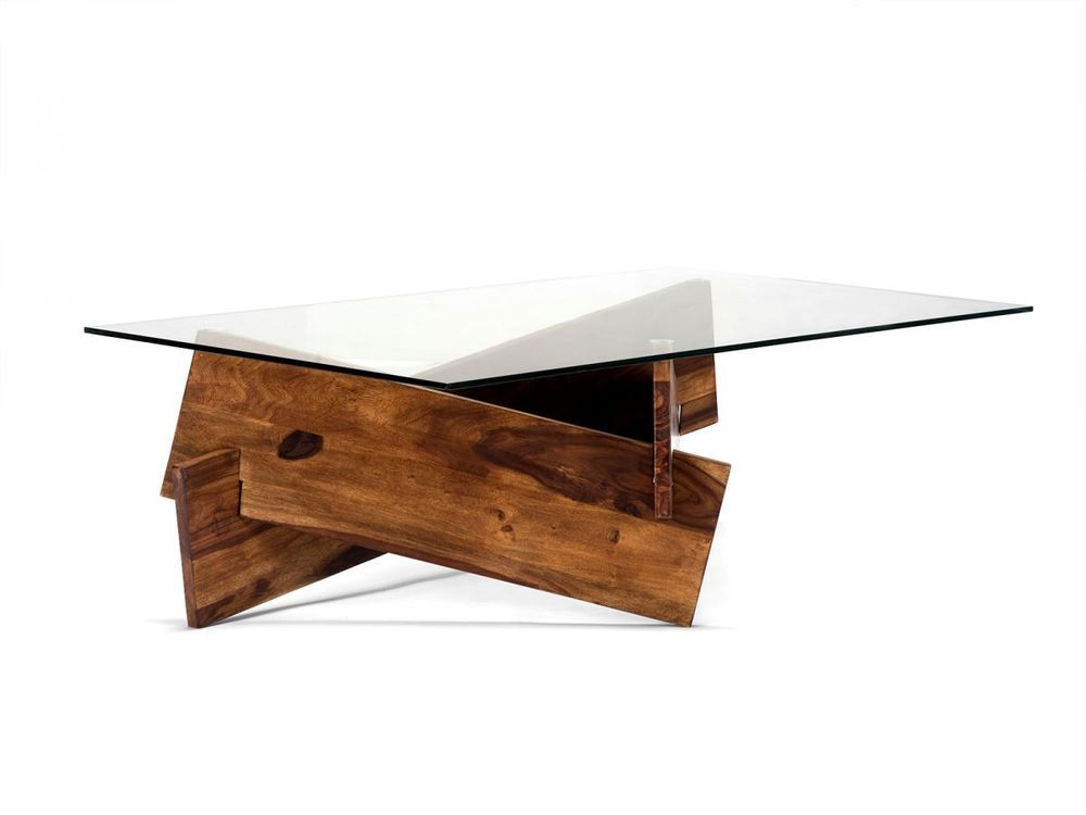 couchtisch 140x80 glastisch massiv holz palisander. Black Bedroom Furniture Sets. Home Design Ideas