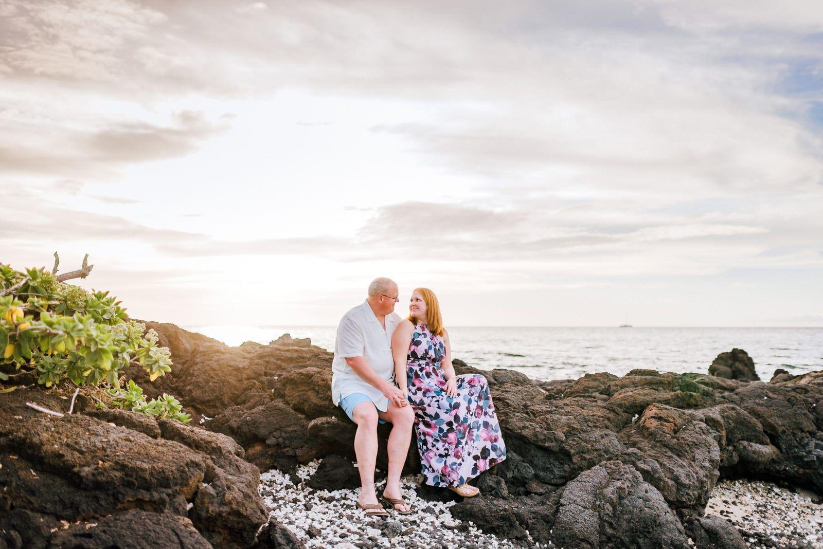 Double couples sunset photography session pauoa bay big