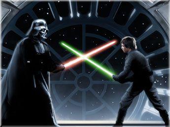 Luke Skywalker Vs Darth Vader Father Son Wow Star Wars Poster Darth Vader Vs Luke Star Wars Wallpaper