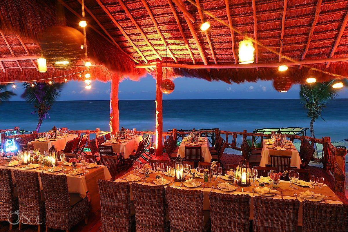 Riviera Maya Wedding Of Vanessa Seumas At Las Ranitas Tulum Beautiful Set Up For