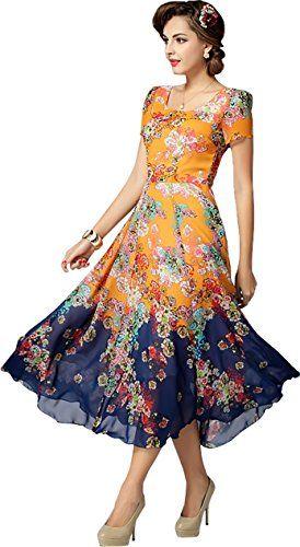 b49c9f2e30e Phoenix Women  s Banglori Anarkali Suit Dress Material
