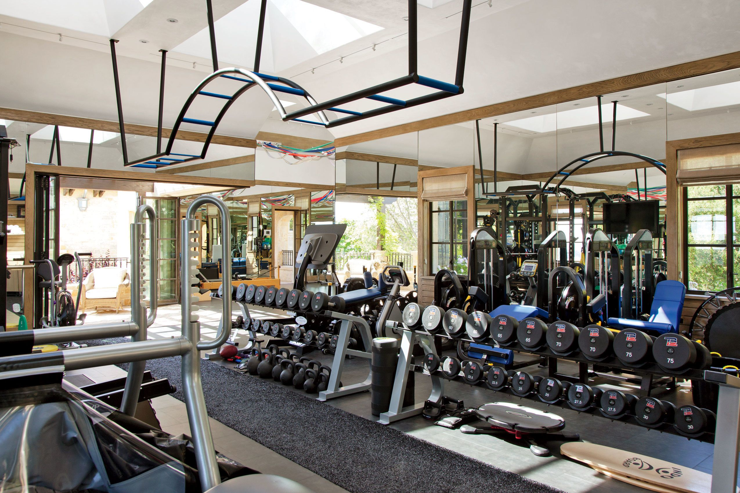 Beautiful Inspiration Home Gym