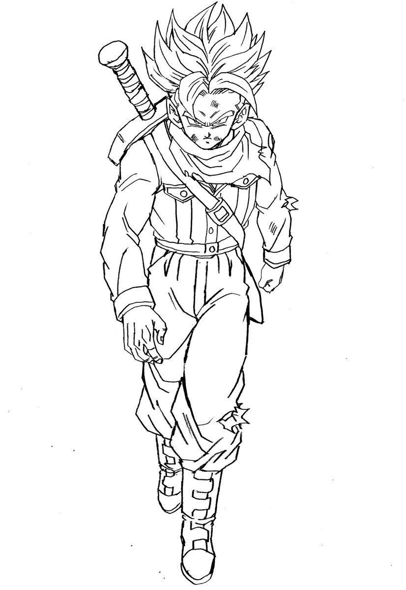 Desenhos Para Colorir Dragon Ball Super Zamasu