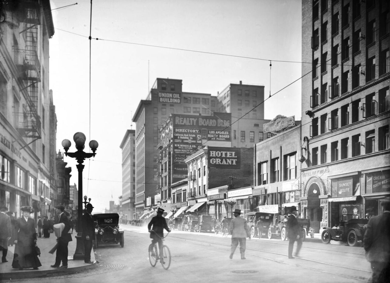 Yesterday S Print Photo Los Angeles History Downtown Los Angeles Vintage Los Angeles