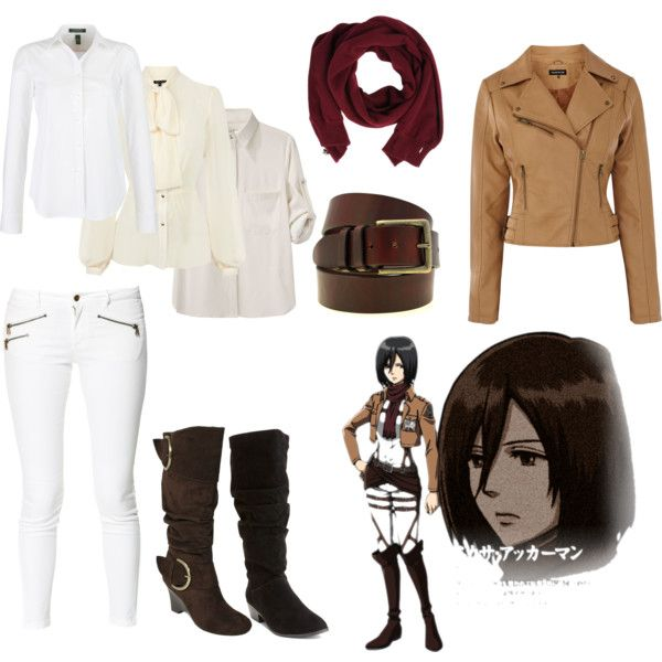 Mikasa Ackerman Snk Casual Cosplay Casual Cosplay Anime