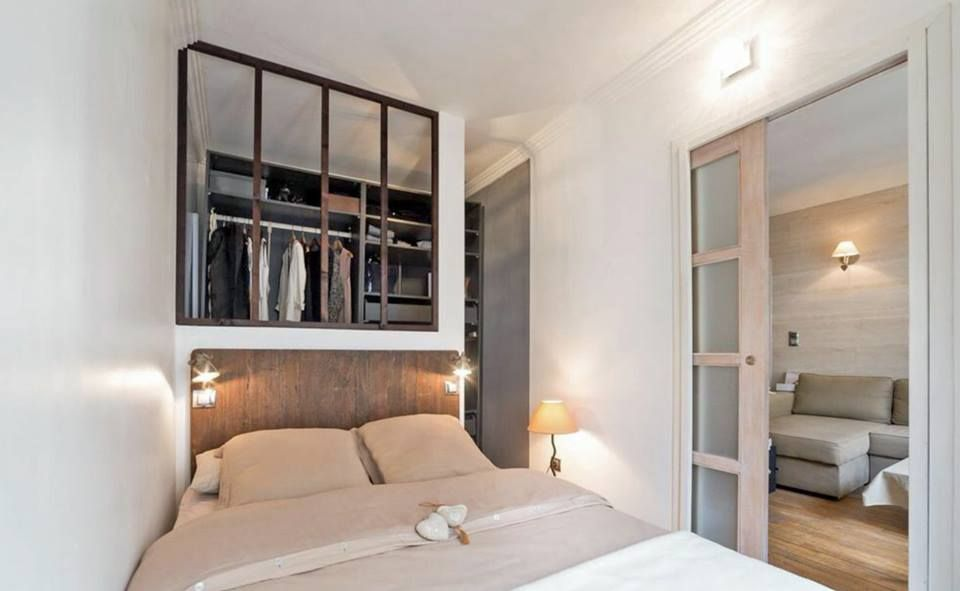 verriere de separation chambre et dressing s parer deux pi ces avec une verri re. Black Bedroom Furniture Sets. Home Design Ideas