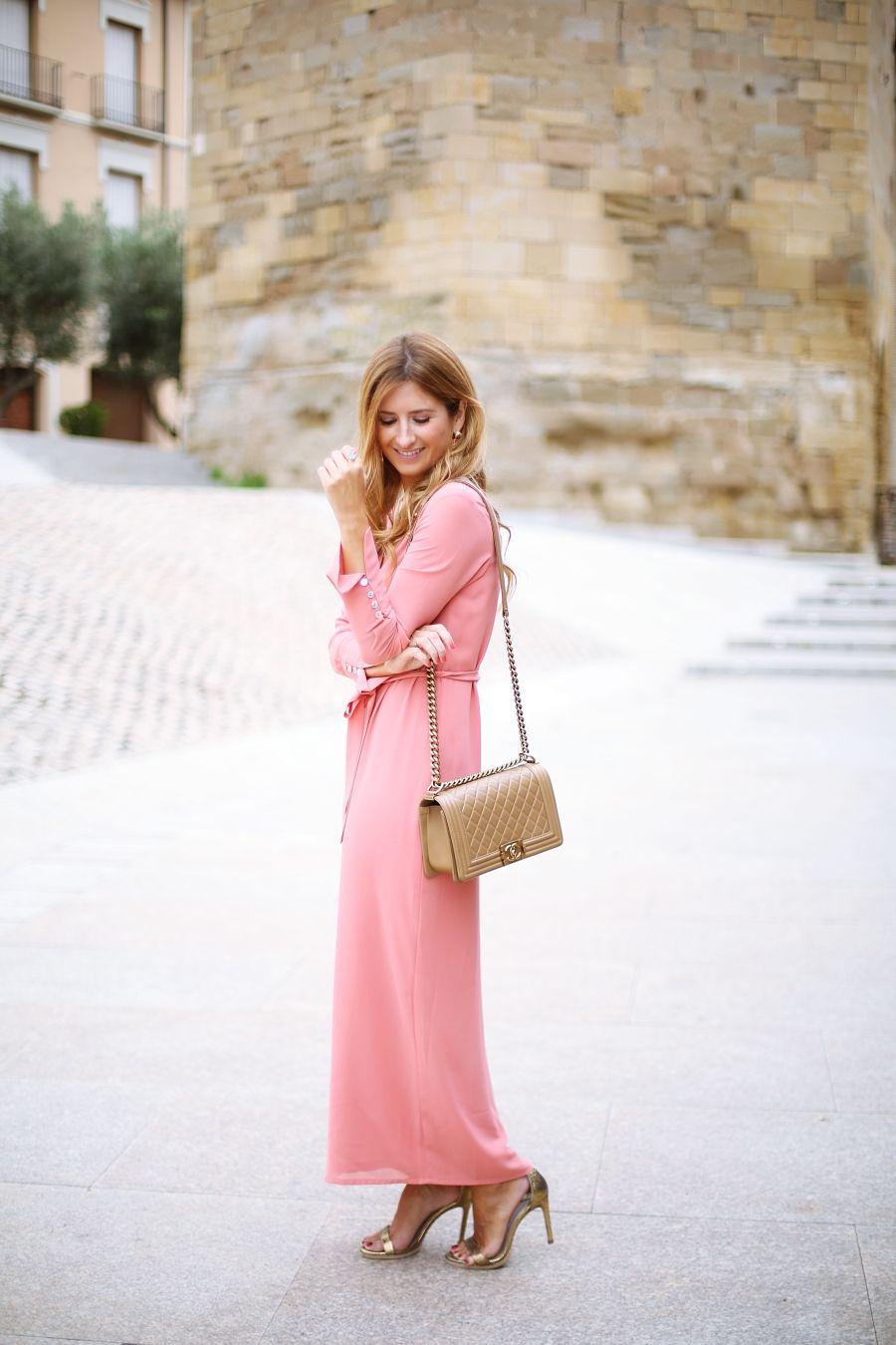 PINK DRESS AND PERFECT MAKE UP | Pinterest | Boda