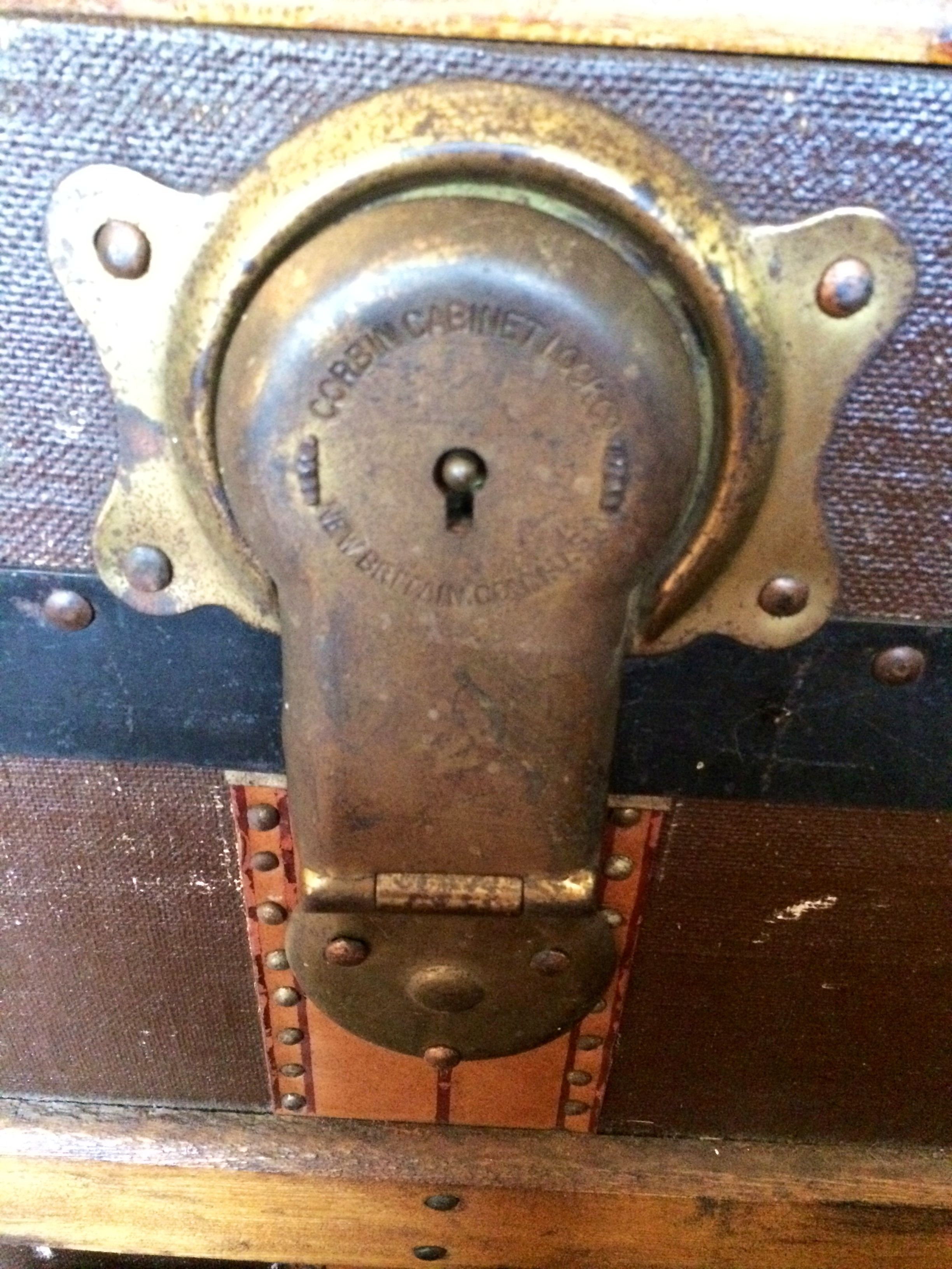Corbin Cabinet Lock Co. New Britain, Connecticut | Steamer Trunk ...