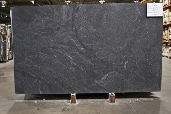 Honed Virginia Mist Granite Alternative To Soapstone In