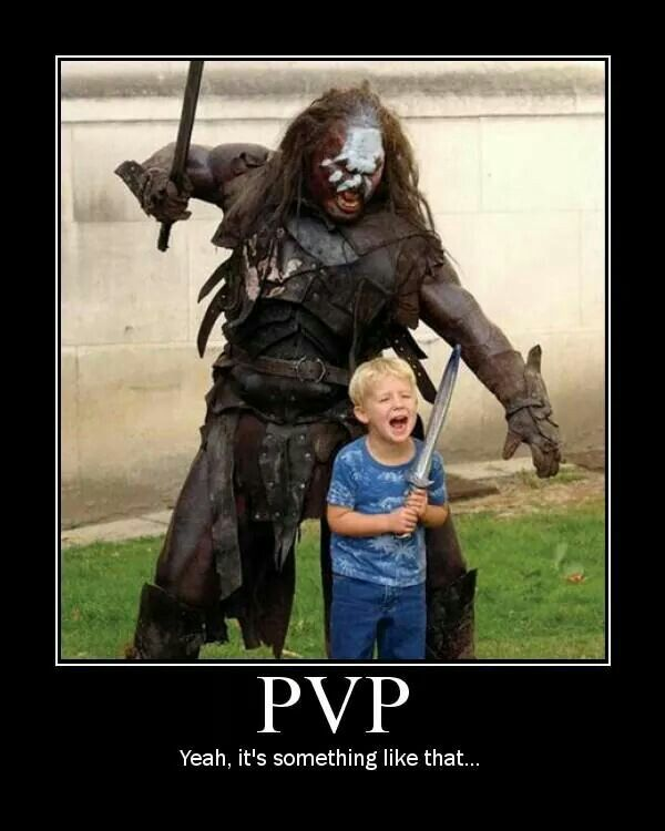 Image result for PvP MMO memes