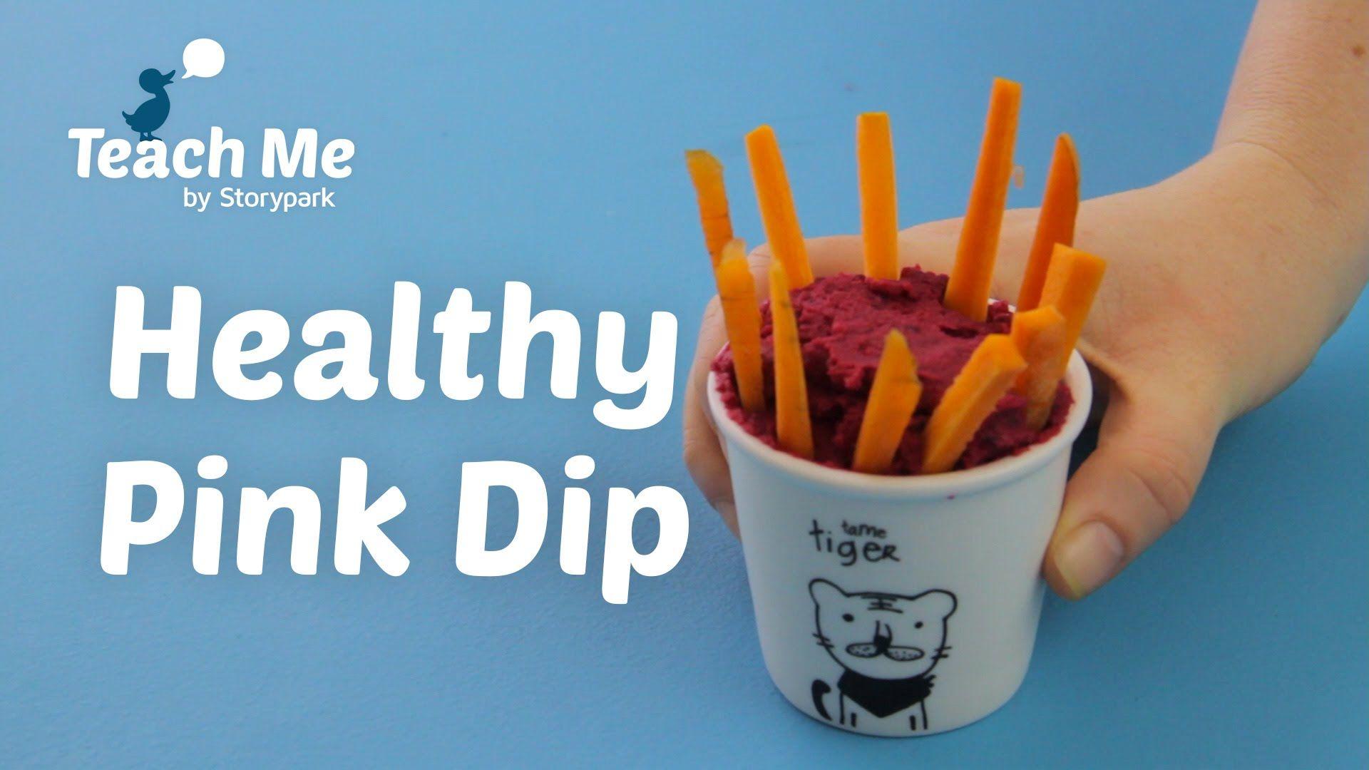 Teach Me: Healthy Pink Dip