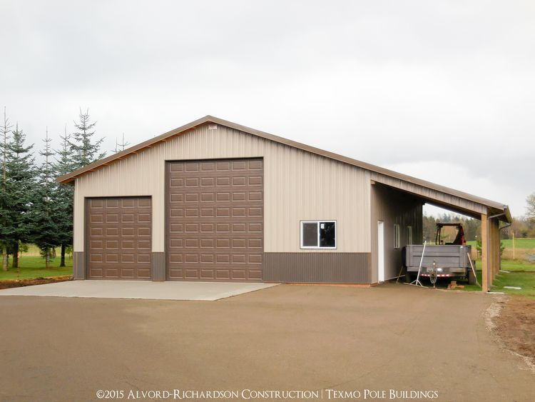 Post Frame Buildings — Texmo Pole Buildings by Alvord-Richardson Construction | Post Frame Construction | Serving Whatcom, Skagit, & San Juan