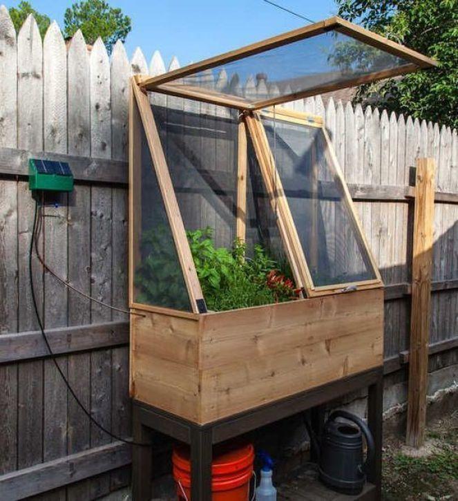 Mike s bean patch cold frame mini greenhouse – Artofit