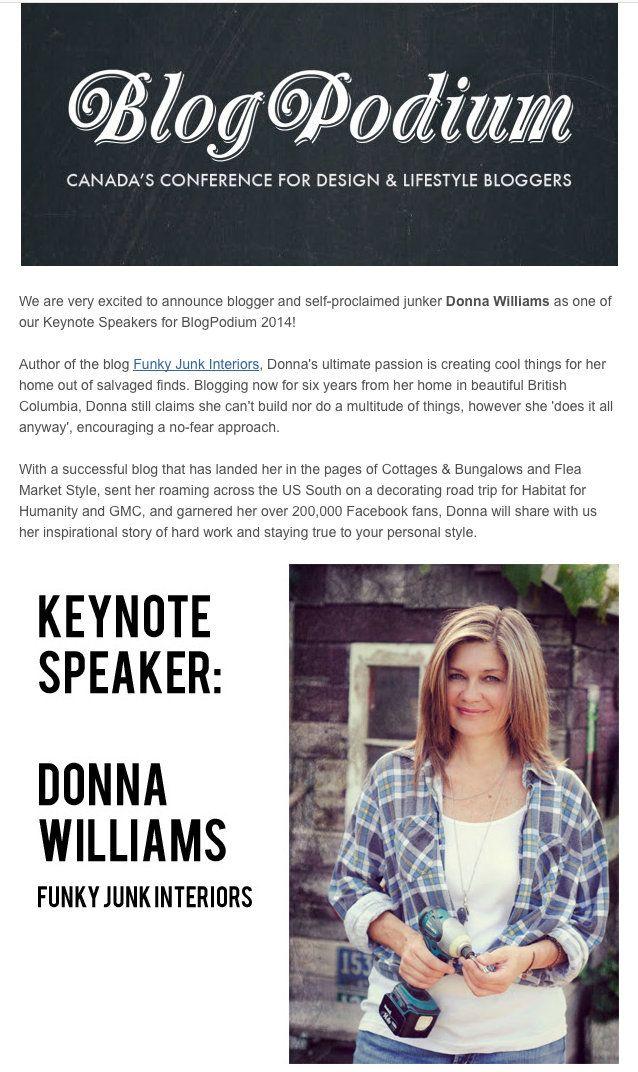 Keynote Speaker Blogpodium Toronto Me Yes 1 With Images