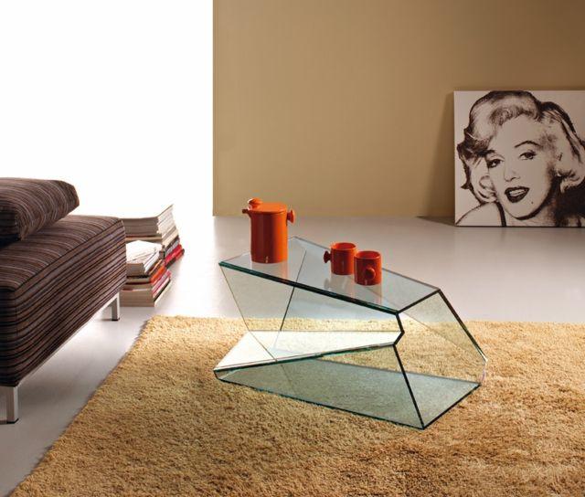 Glastisch Design von Karim Rashid und Tonelli Design | Pinterest ...