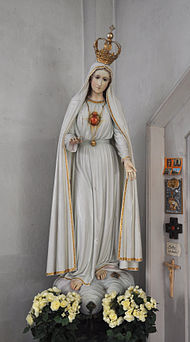 As We Approach The 100th Anniversary Of The Apparitions Of Our Lady Of Fatima One Aspect That Often Goes Unn Lady Of Fatima Blessed Mother Mary Blessed Mother