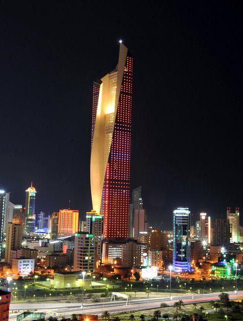 Downtown Kuwait City Famous Buildings Amazing Architecture Kuwait City