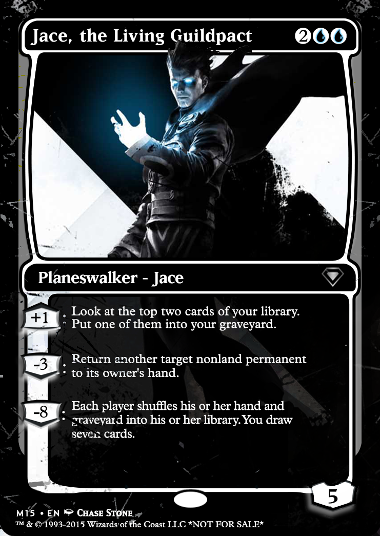 M15 Style Jace Original Alter By Collin Satterlee Inspired By The