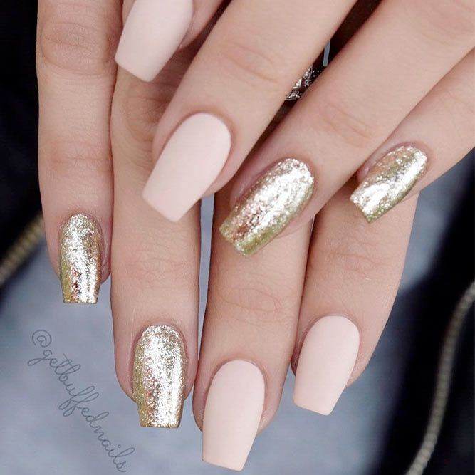25 Fantastic Designs For Coffin Nails You Must Try | Nail Glam ...