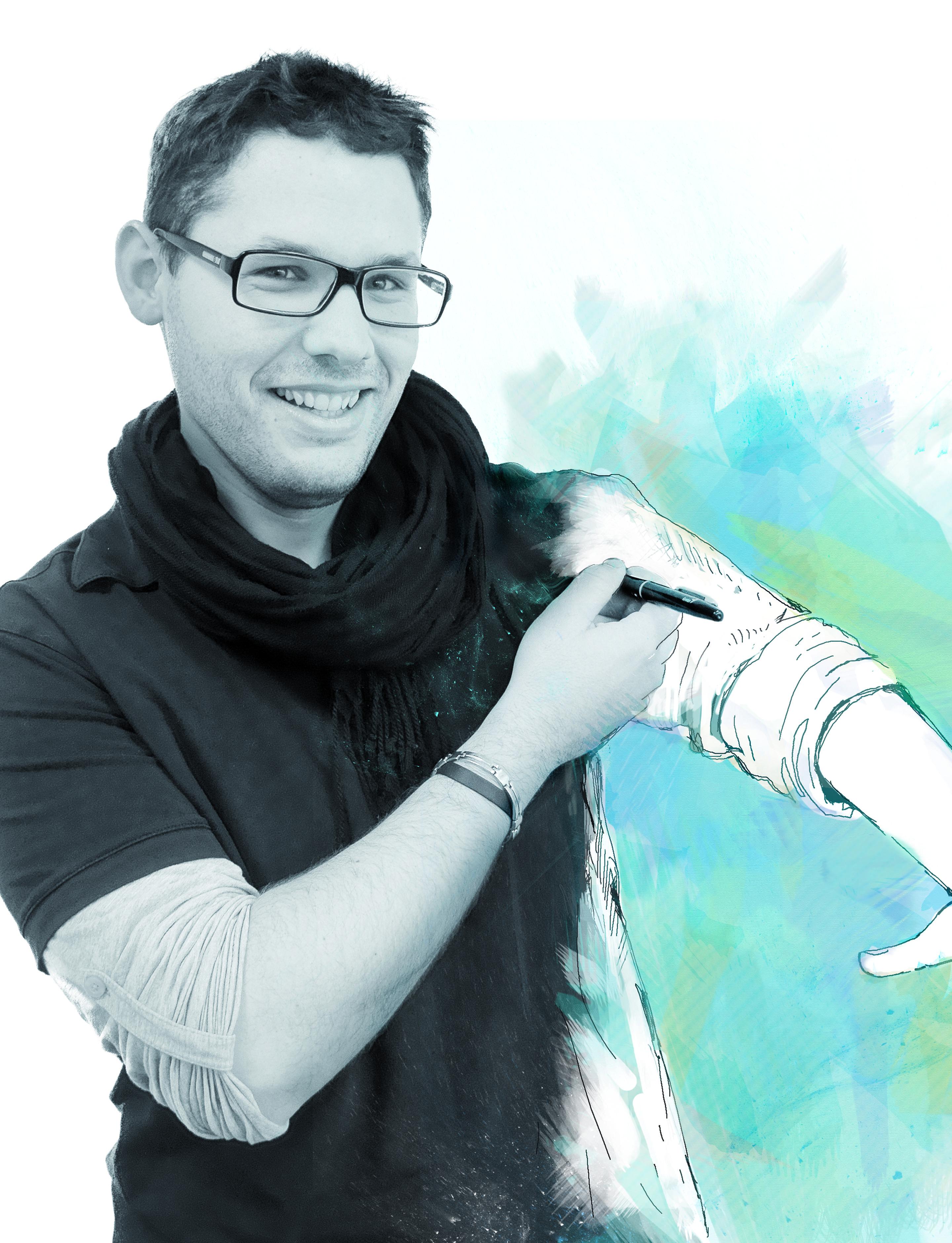 Fabien Lambert, graphiste infographiste