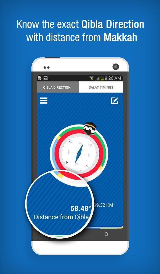 Qibla Compass App To Find Direction Of Qibla & Salat
