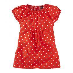 Wilhemina Day Dress   We named this bright polka dot dress after a German girl's name