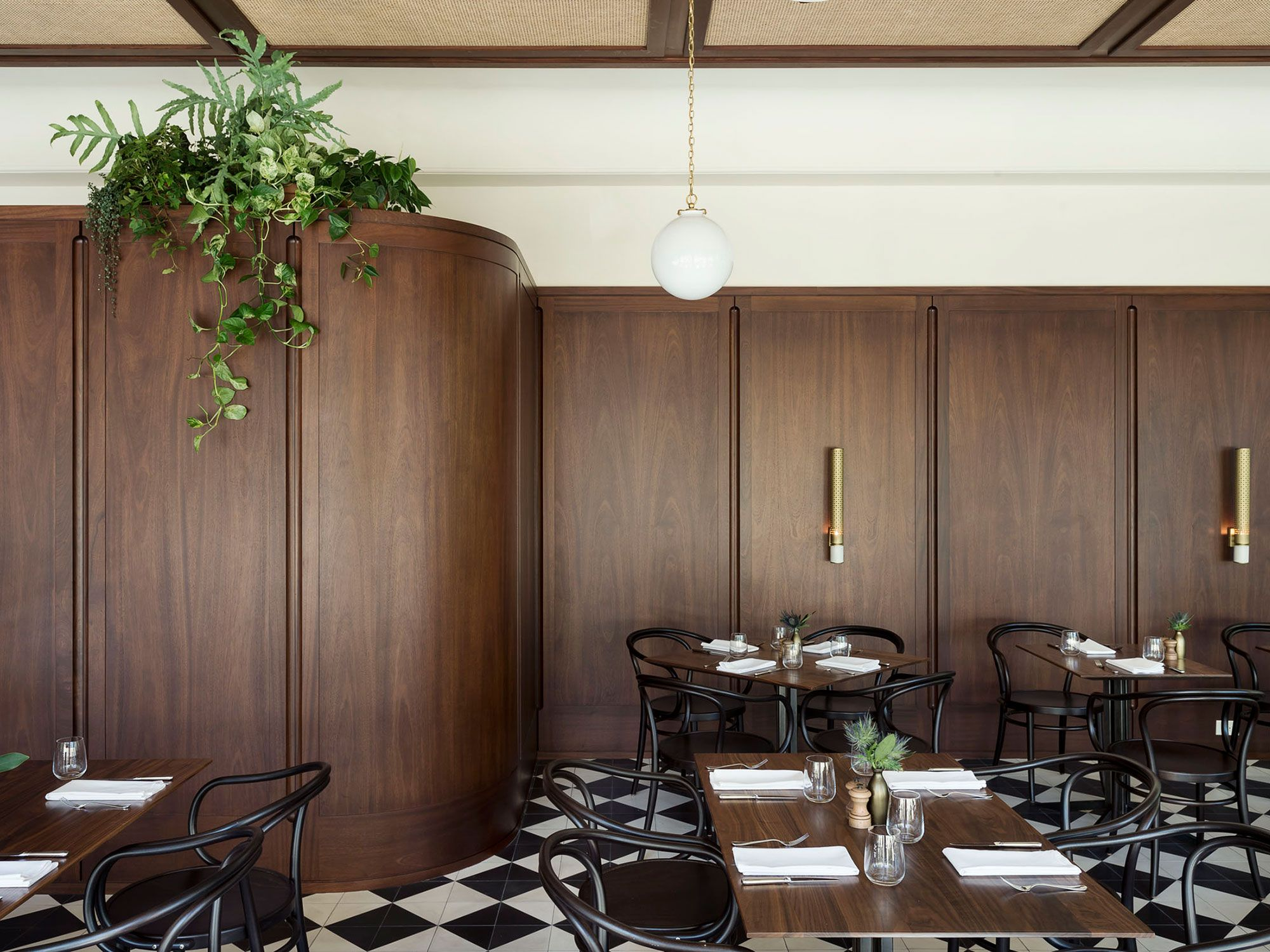 The Dewberry Hotel Workstead Hospitality Interior Design Project - Hotel dining room furniture
