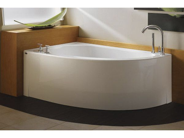 How To Buy The Right Bath Tub For Your Bathroom Renovation Corner Bath Tubs.  Soaking TubsSmall SpacesBathroom ...