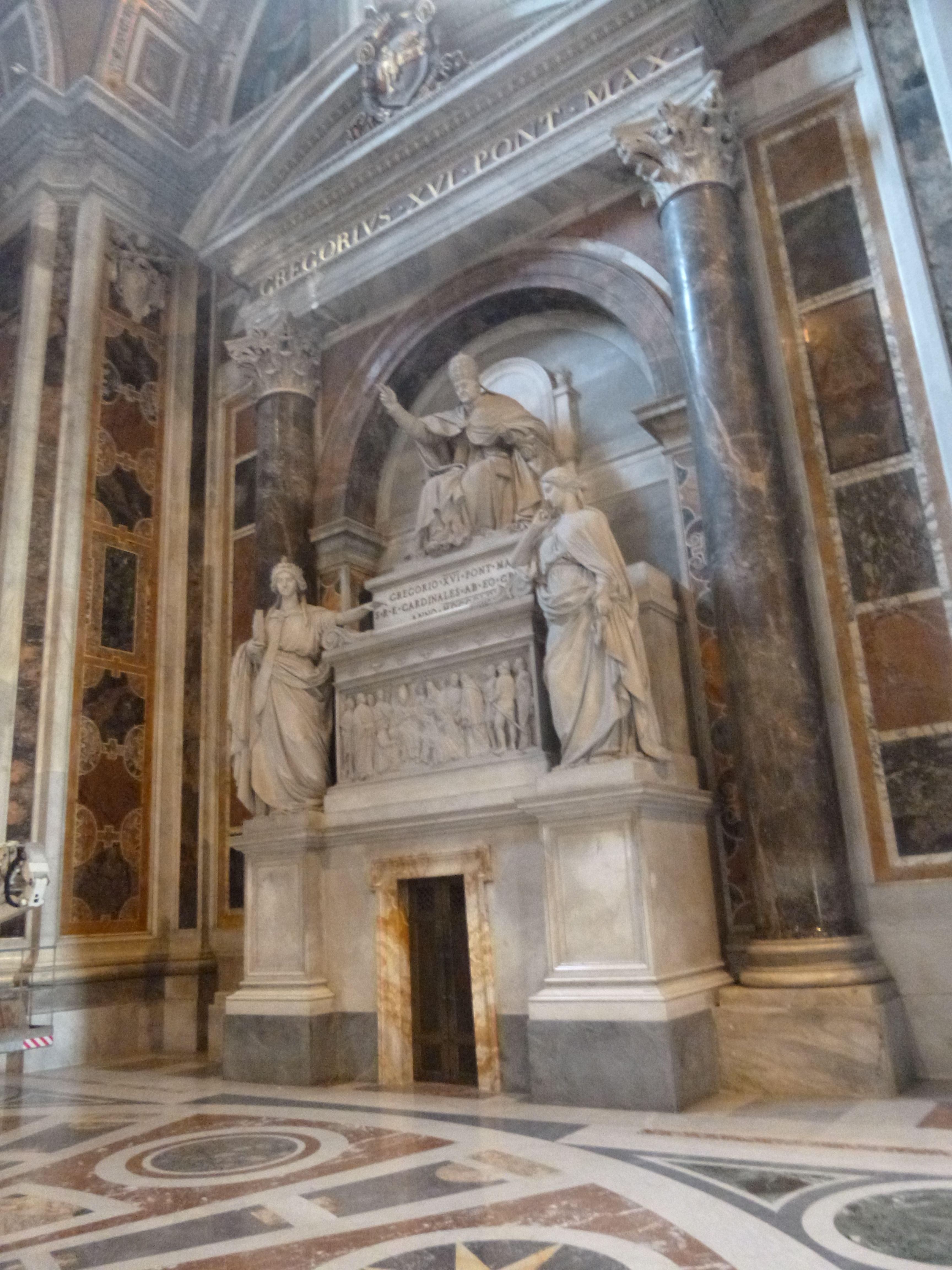 Inside St. Peter's Basilica Vatican City
