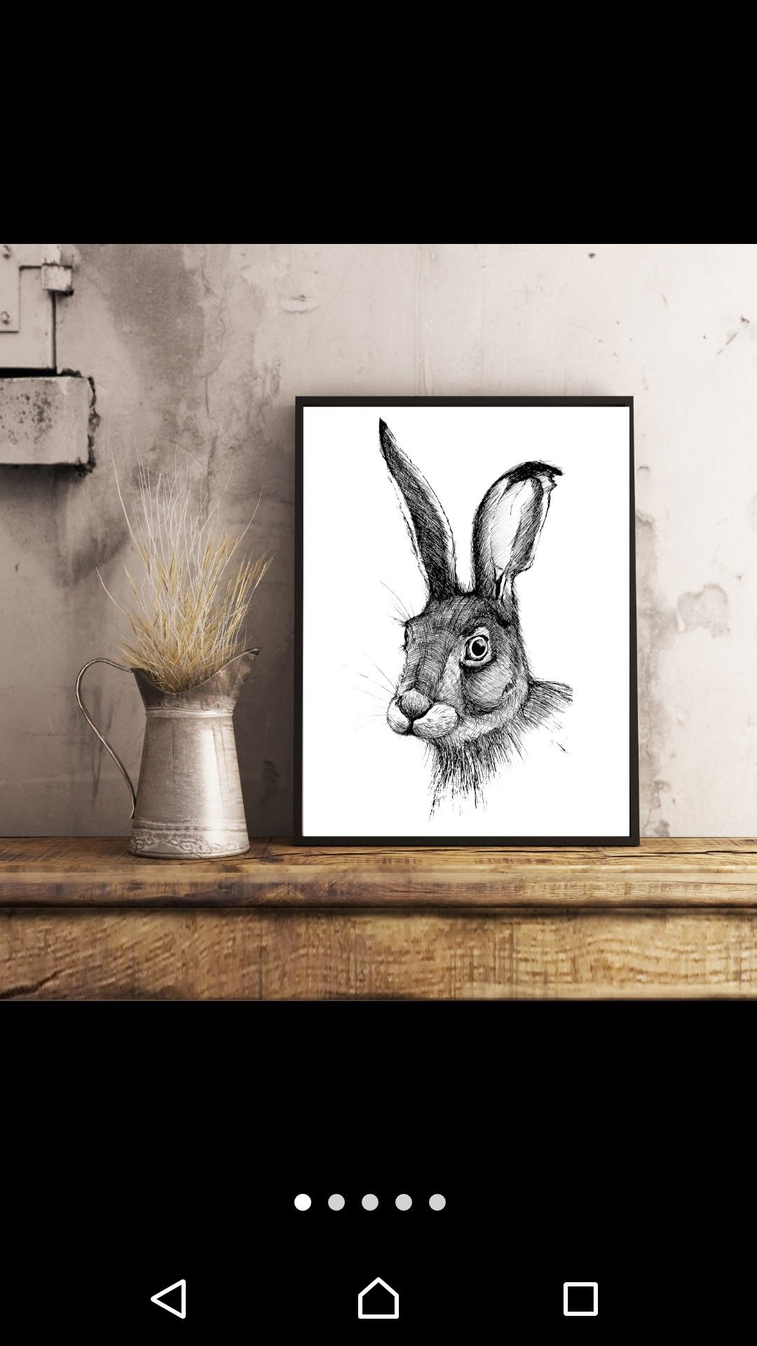 Hare, print