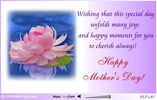 123greetings Com Send An Ecard Mother Day Wishes Day Wishes Mothers Day Verses