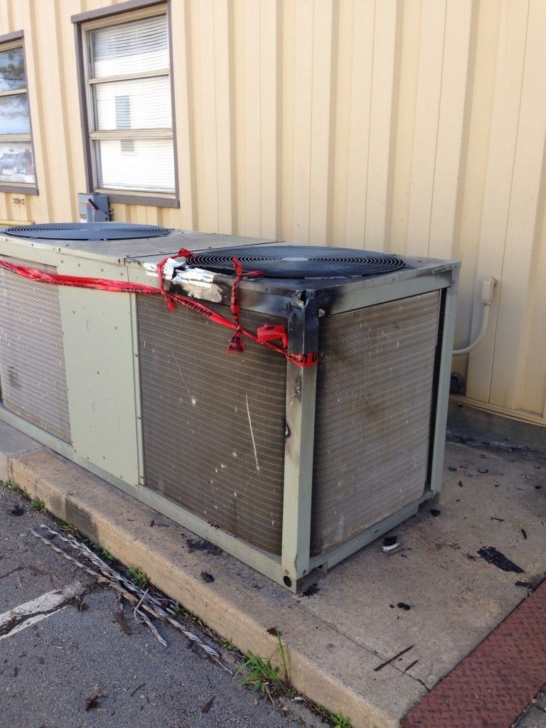 12kv power line on a Trane condenser http//www.hvac