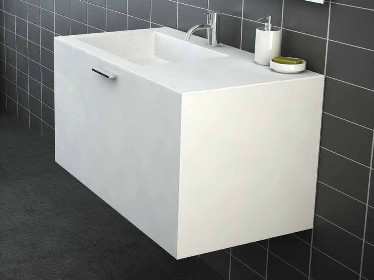 Omvivo Urban 900 Wall Hung Vanity Unit exclusively from Reece Bathrooms. Omvivo Urban 900 Wall Hung Vanity Unit exclusively from Reece