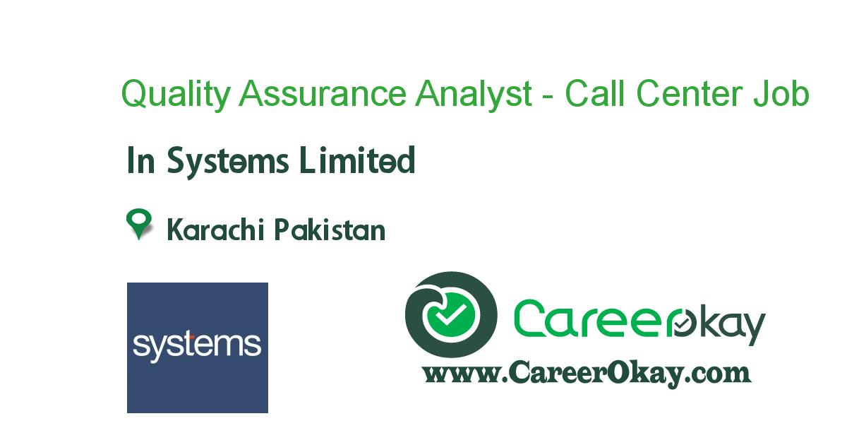 Quality Assurance Analyst Call Center At T Https Www Careerokay Com Job Job Listings Quality Assurance An Executive Jobs Marketing Jobs Sales And Marketing
