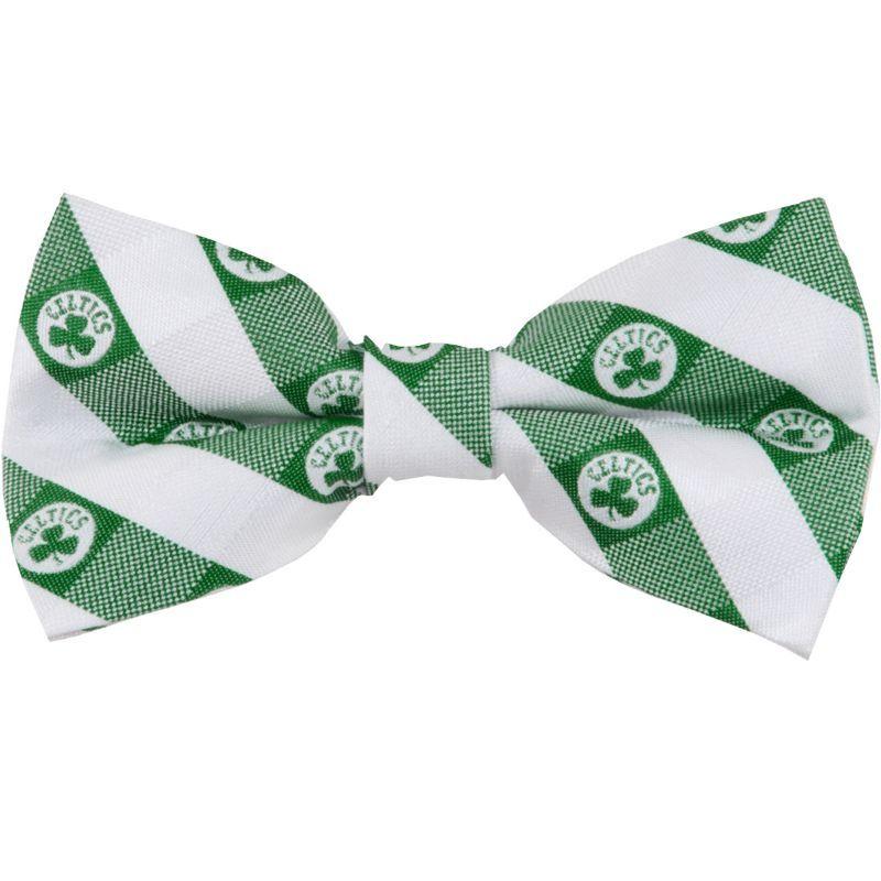 Wings Boston Celtics Checkered Bow Tie, Team